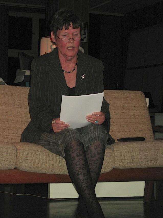 """Hedda Kage interviene en una sesión de """"Drama Panorama"""""""