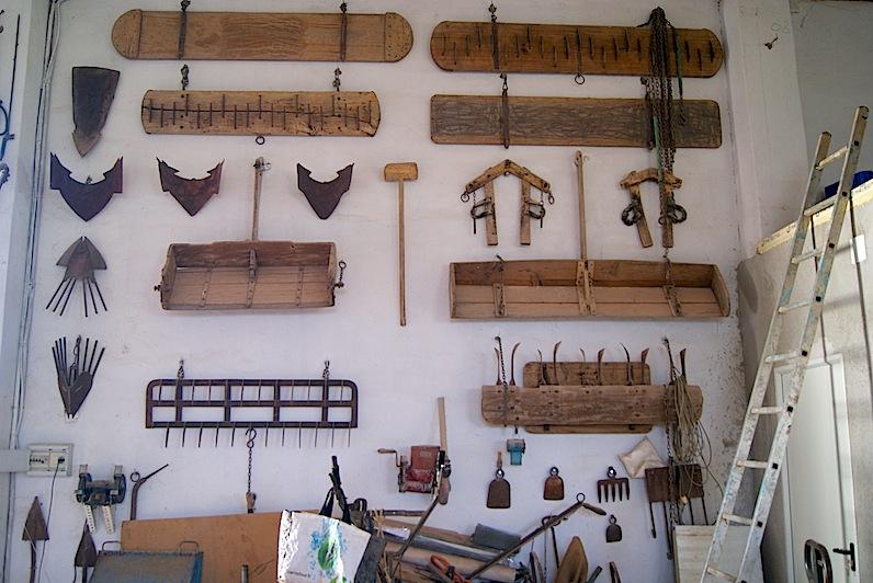 En un futuro no muy lejano, las instalaciones de Sa-i-Fresc en Catarroja tengrán un museo de aperos tradicionales de labranza de l'Horta de València.