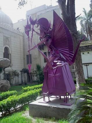 Visión ferrandina de Alejandro Magno, situada en El Cairo.