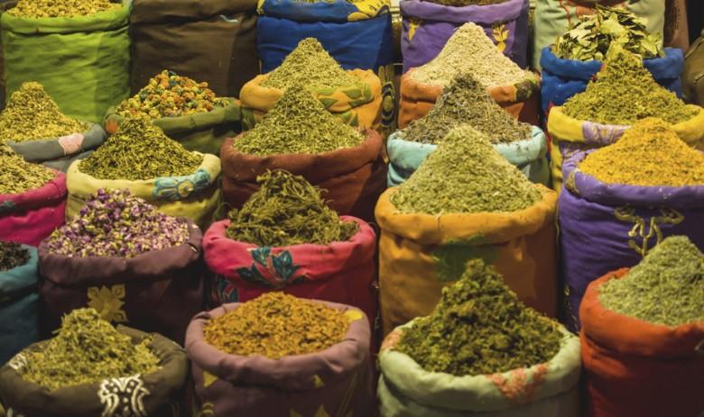 Productos tradicionales de la India eterna. Foto tomada de Pangea