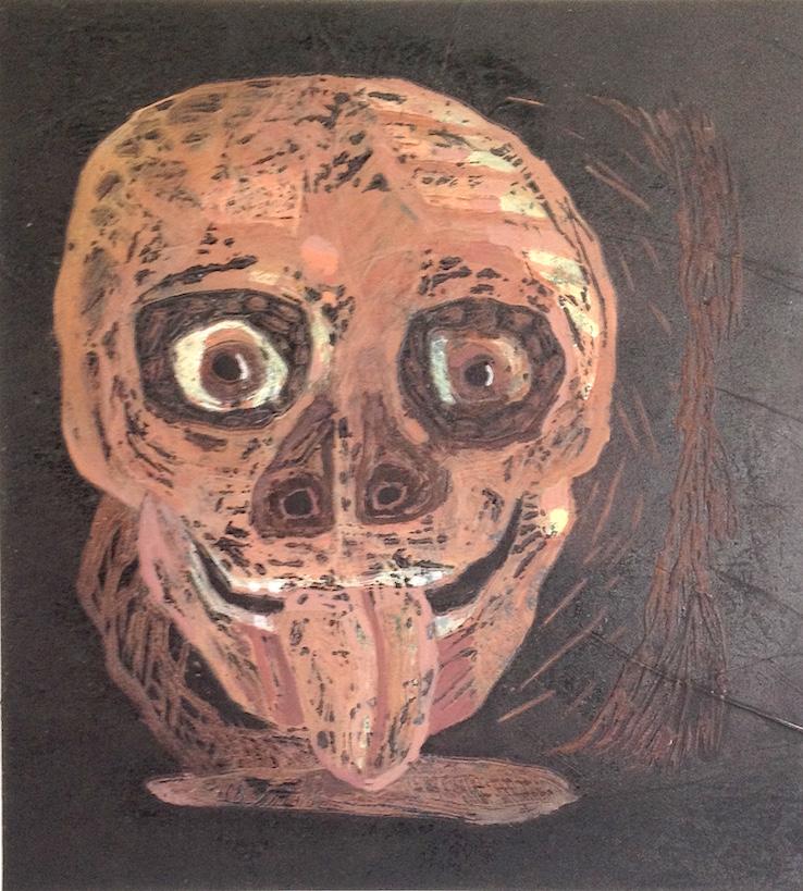 Calavera burlona (2014) o metáfora de la clase política