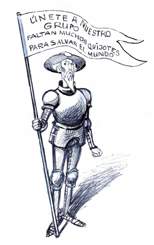 Aniversario de la muerte de Cervantes.