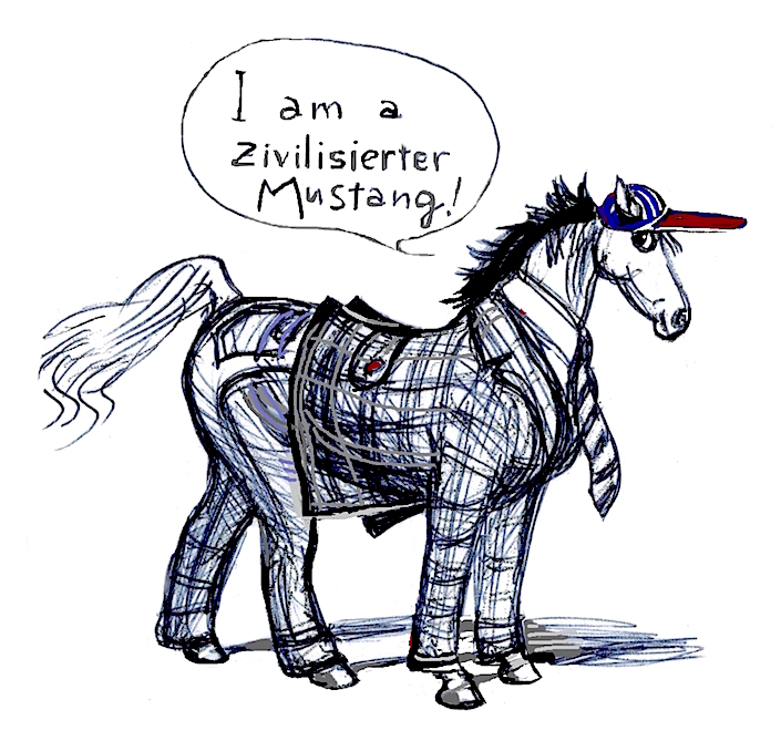 Un Mustang Civilizado