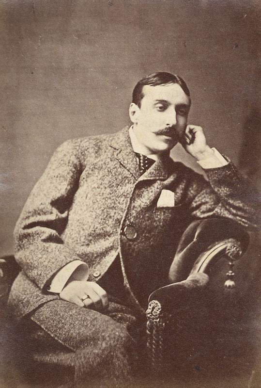 El escritor y diplomático portugués Eça de Queirós. 1845-1900. Fotografía tomada de Wikipedia.