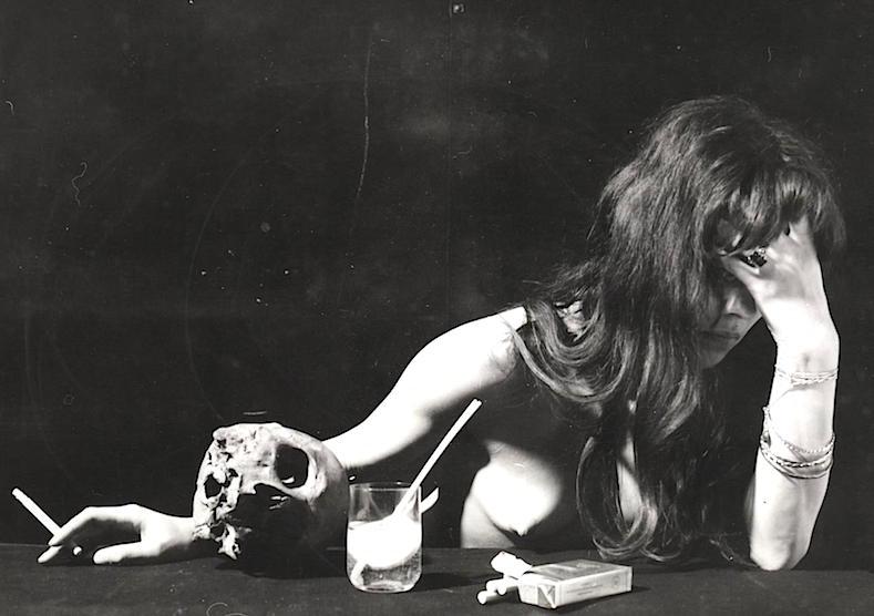 Petra Flierl en los años 70. Foto de su archivo