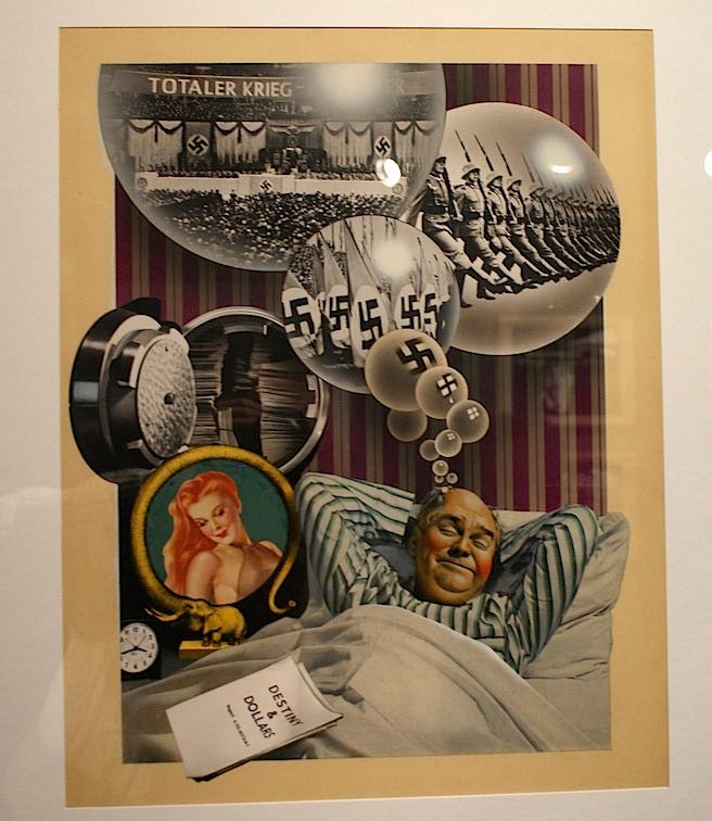 Uno de los fotomontajes de Renau en la exposición de Berlín mencionada más arriba.