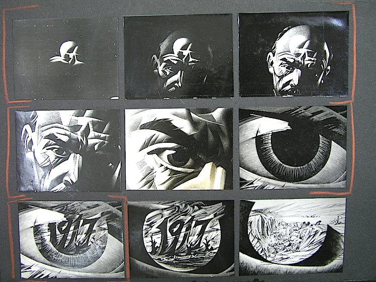 Mas bocetos. Fundació Josep Renau.