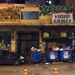 Videojuegos víctimas de la crisis. En el barrio de Exarquia.