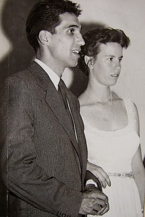 Francisco Espresate y Julia Renau, en fecha desconocida.