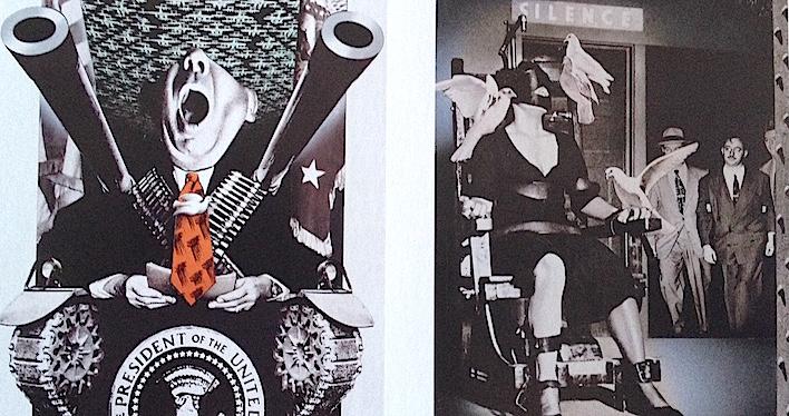 Inmejorables estereotipos del imperialismo yanque, agresión y represión.