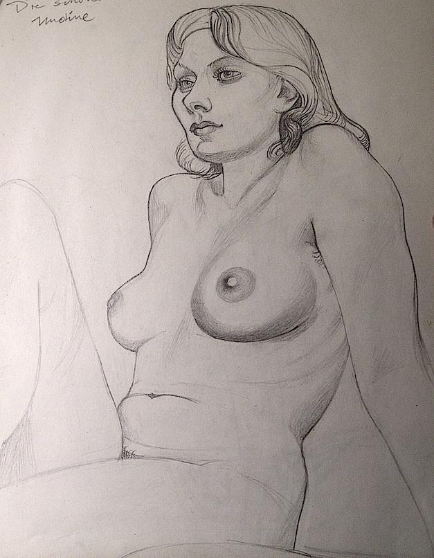 La bella Undine, retratada por Marta