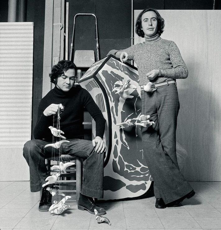 Rafael Solbes y Manolo Valdés, del Equipo Crónica