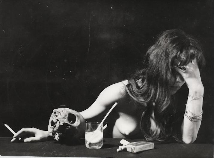 Petra Flierl, posiblemente fotografiada por Renau