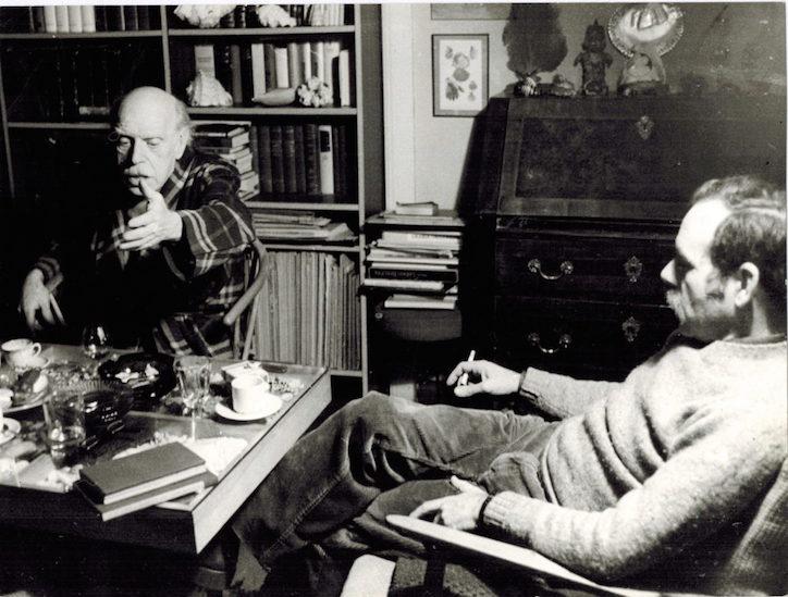 Doro Balaguer visitó a Renau en su casa de Berlín en varias ocasiones.