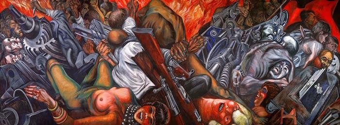 Katharsis, de José Clemente Orozco. México 1935