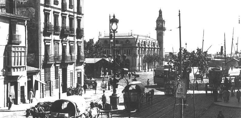 Puerto de Valencia años 30