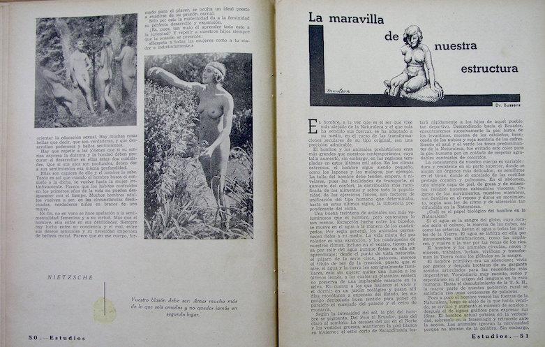 La inquietud por el sexo en los años treinta en Valencia.