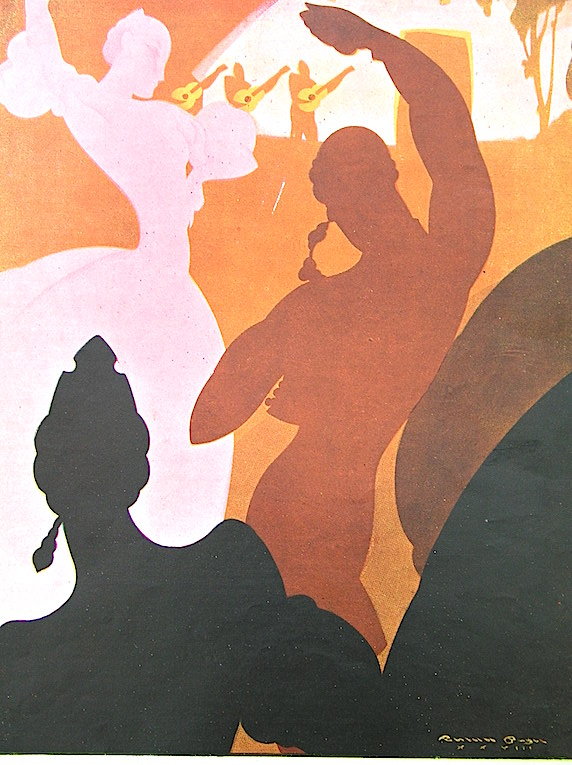 Ilustración de Renau publicada en La Esfera. Del archivo de la Fundació Josep Renau