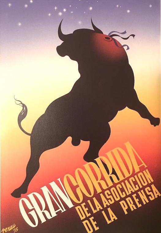 El toro de Renau fue secuestrado por una marca de pantalones vaqueros. El artista estaba exiliado en México y no pleiteó contra los usurpadores, quizá porque no confiaba en que la justicia española le tuviera en consideración.