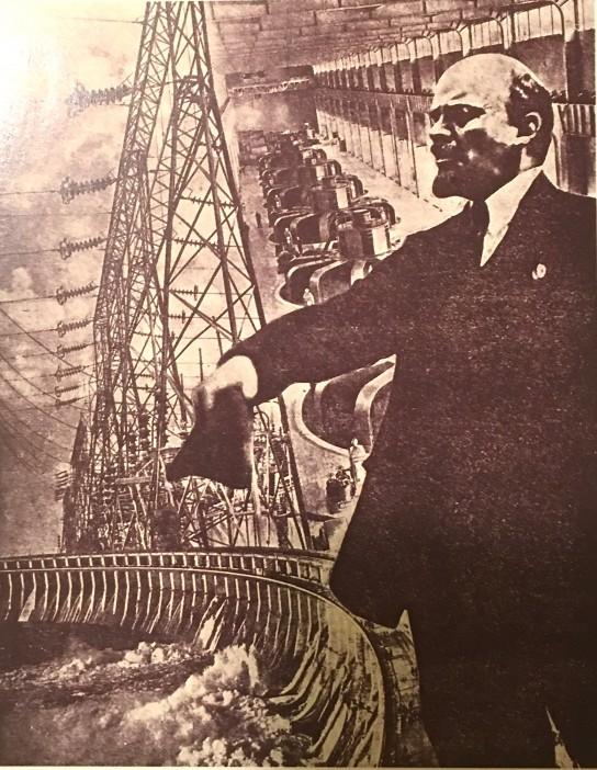 Un fotomontaje de 193x Lenin, en minoría frente a los anarquistas valencianos, acabará imponiendose.