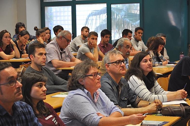 Asistentes al seminario en la UJI