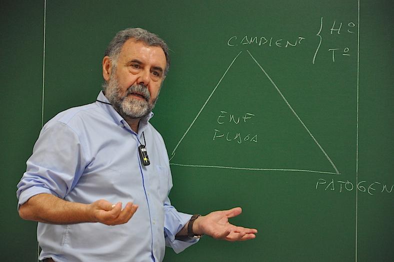 José Luís Porcuna, en la UJI
