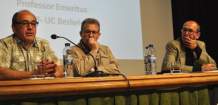 Miguel Altieri, Manuel González de Molina y Rafael Laborda
