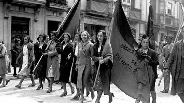 Fotografía de fecha y lugar sin especificar. Tomada del portal https://losojosdehipatia.com.es/cultura/historia/la-republica-y-las-mujeres/
