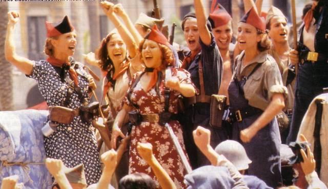 "Fotograma de la película ""Libertarias"", de Vicente Aranda."