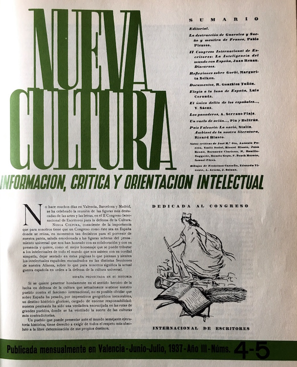 """Número de """"Nueva Cultura"""" dedicado al Congreso"""