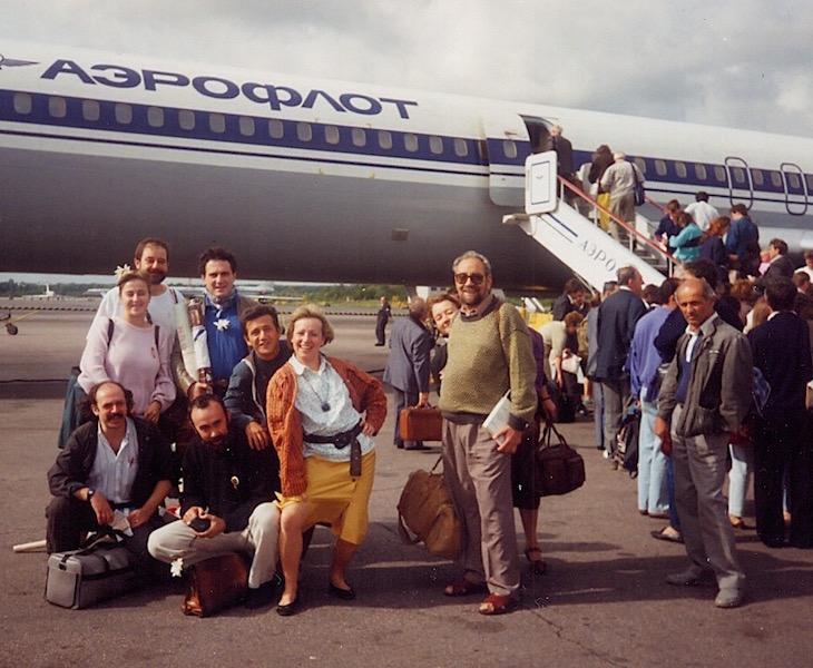 Saliendo de Madrid hacia Leningrado, hoy San Petersburgo