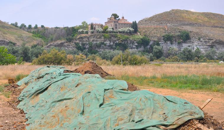 Este año los distintos agricultores eco del Soto del Grillo utilizarán pro primera vez el compostaje producido por ellos mismo, gracias a los recursos ofrecidos por colegios y empresas, ademas de los propios.