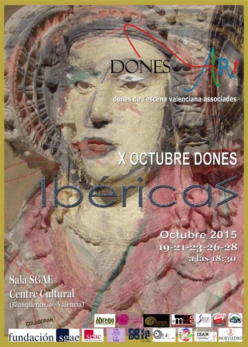 CARTEL X FESTIVAL DONESenART IBÉRICAS