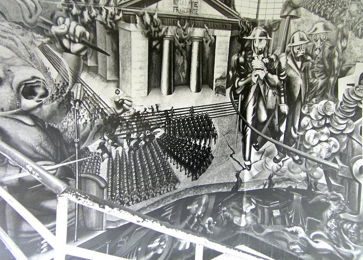 Fotografía tomada por Renau. Archivo Fundación Renau.