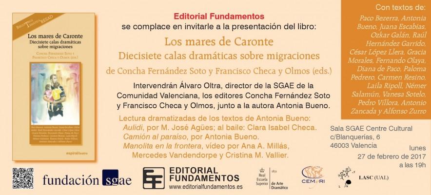 Presentación Mares caronte en Valencia