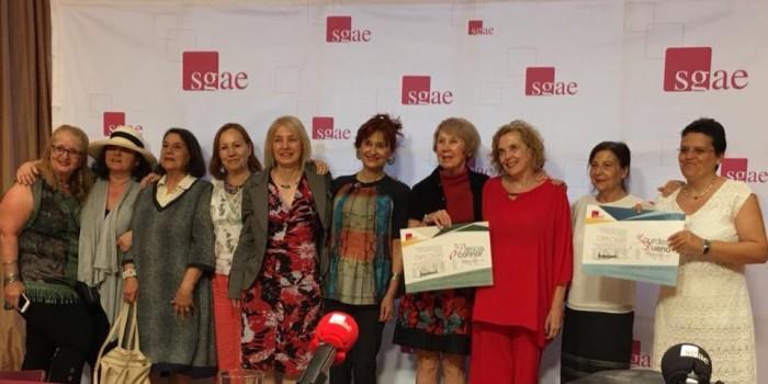 foto dramaturgas SGAE Congreso ESTRENO