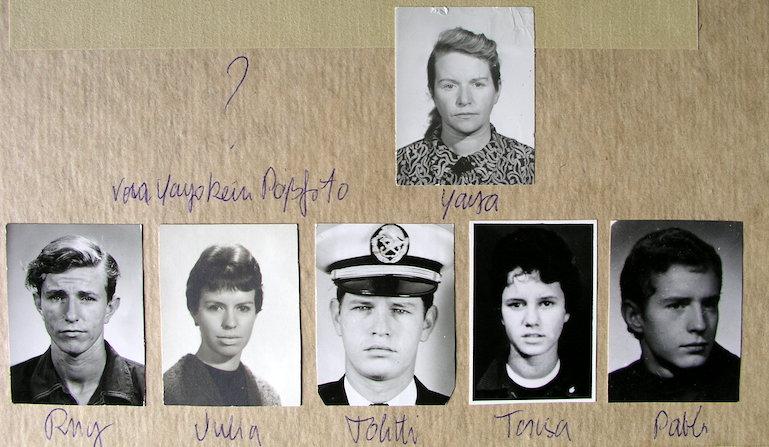 Estas fotos del álbum familiar de Teresa Renau deben de pertenecer a los últimos años de la década del 50.