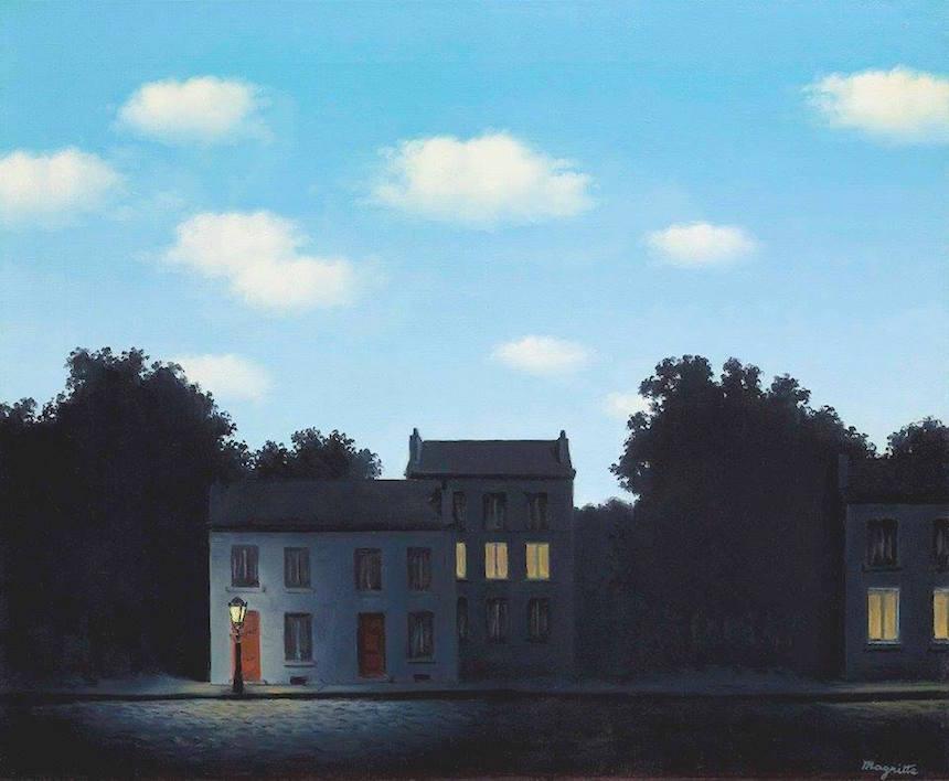 El Imperio de las luces, de René Magritte.